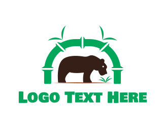 Wilderness - Bear Park logo design