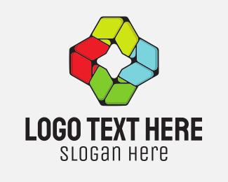 Geometric - Geometric Star logo design