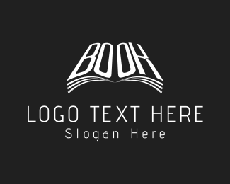 Ebook - White Book  logo design