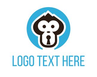 """""""Monkey Lock"""" by user1492792151"""