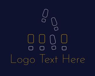 Walk - Tap Dance logo design