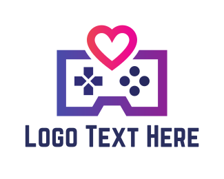 Playstation - Game Love logo design