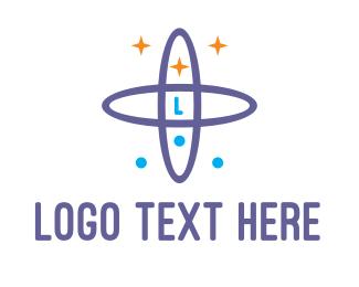 Galaxy - Violet Galaxy logo design