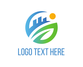 Urban - City Circle logo design