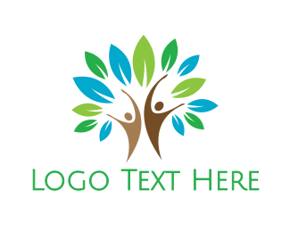 Environmentalist - Nutrition Tree People  logo design