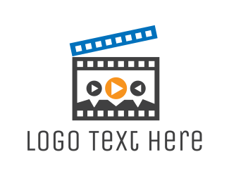 Media - Movie Player logo design