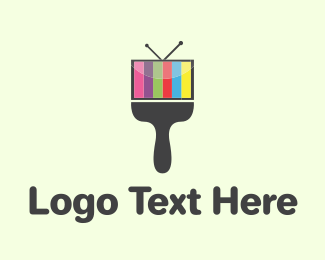 Television - Color Media logo design