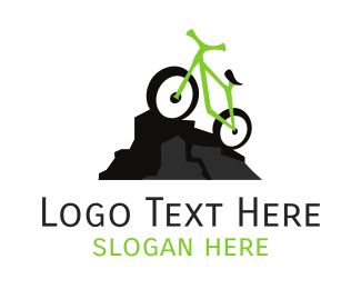 Bike - Green Mountain Bike logo design