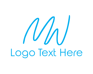 Womens - M & W logo design