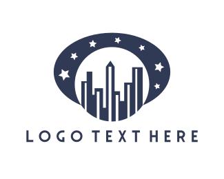 Residential - Blue Moon City logo design