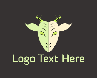 Wicked - Evil Goat logo design