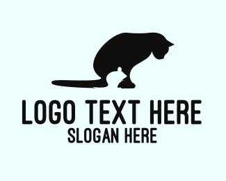 Mouse - Mouse & Cat logo design