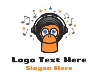 Monkey - Funky Monkey logo design