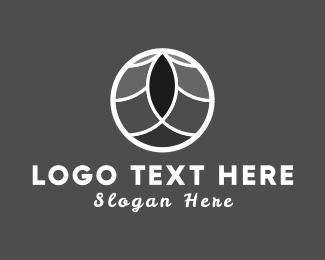 Massage - Zen Circle logo design
