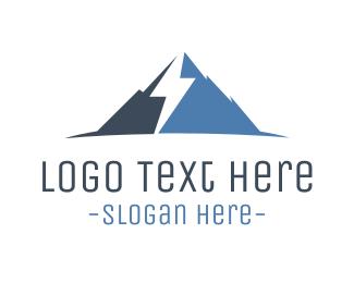 Flash - Thunder Blue Mountain  logo design