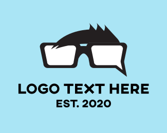 Chat - Chat Nerd logo design