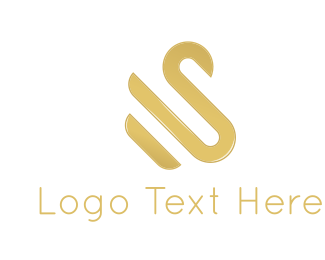 Elegance - Golden Swan logo design