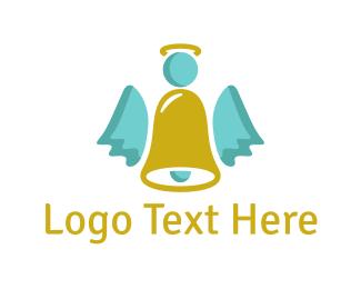 Bell - Angel Bell logo design