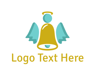 Bell - Angel Bell logo design