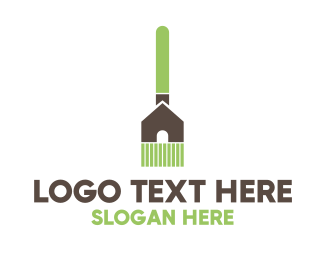 Cleaner - Home Broom  logo design
