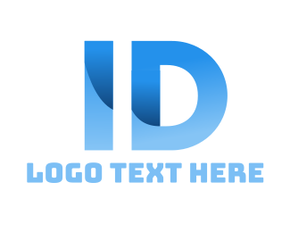 Id - Blue Identification logo design