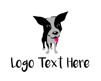 Doggy - Cute Dog  logo design