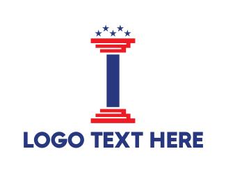 Pillar - USA Pillar logo design