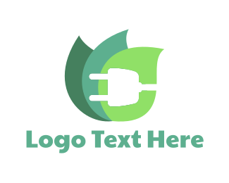 Electrician - Eco Plug logo design