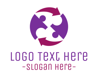 Religion - Human Cycle logo design