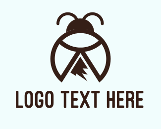 Lady Bug - Peak Bug logo design