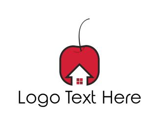 Berry - Cherry House logo design