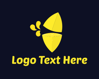 Detox - Lemon Juice logo design