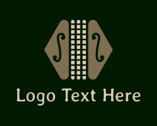 Band - Colorful Classic Accordion logo design