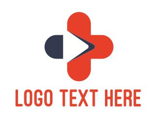 Help - Medical Video logo design