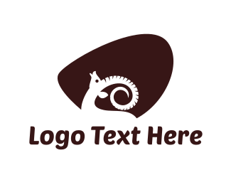 Cattle - White Ram logo design