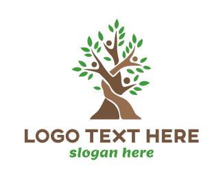Parenthood - Woven Tree People logo design