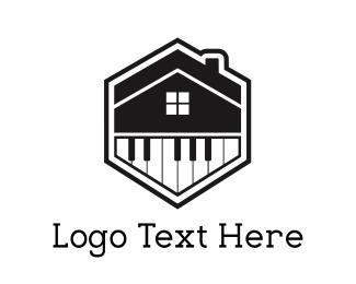 Piano - Piano House logo design