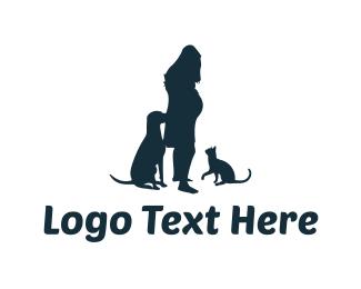 Pregnant - Pregnancy Silhouette logo design