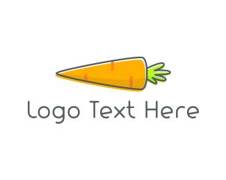 Juice - Baby Carrot logo design