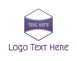 Badge - Purple Badge  logo design