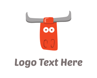 Yak - Red Bull Cartoon logo design