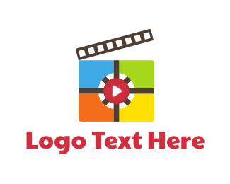Theater - Media Studio logo design