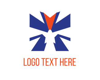 Hero - Eagle Star logo design