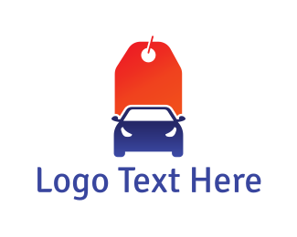 Sedan - Car Tag logo design
