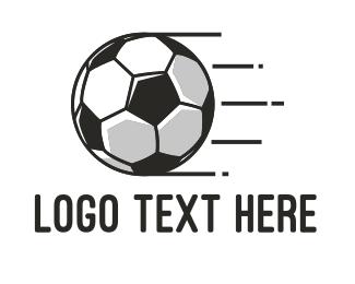 Goal - Fast Football logo design