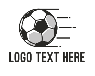 Football Player - Fast Football logo design