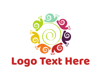 Day Care - Snail Circle logo design