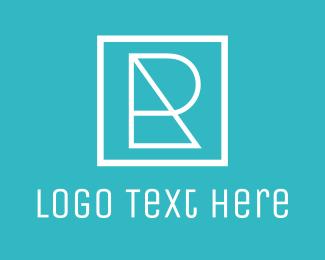 Designer - Geometric Letter R logo design