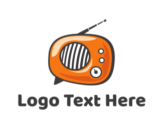 Communications - Radio Talk logo design