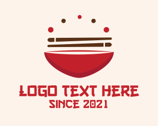Ramen - Asian Food logo design